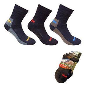 Ponožky Vavrys Trek Coolmax - 3 páry 28323 S (34-36)