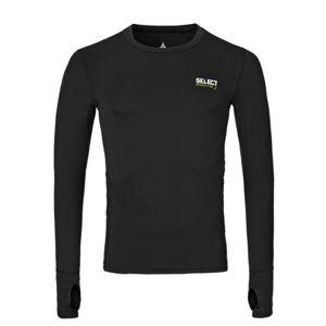 Kompresní triko Select Compression T-shirt L/S 6902 černá S