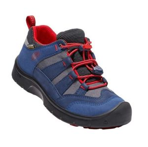 Dětské boty Keen Hikeport WP Jr, dress blues/firey red 6 US