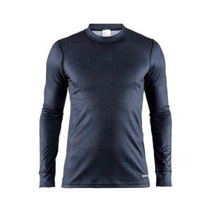 Triko CRAFT Mix and Match 1904510-6136 - černá s tmavě modrou S
