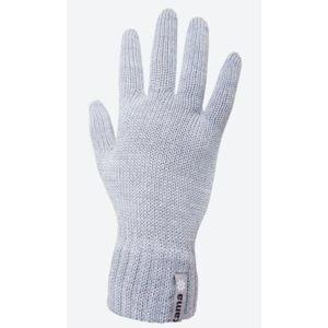 Pletené Merino rukavice Kama R102 109 světle šedá S
