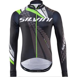Pánský zateplený dres Silvini Team MD1401 black-green
