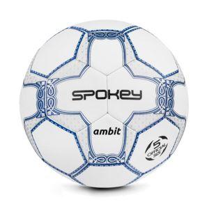 Spokey AMBIT fotbalový míč bílo-stříbrný vel. 5