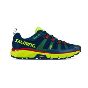 Boty Salming Salming Trail 5 Men Poseidon Blue/Safety Yellow 8 UK