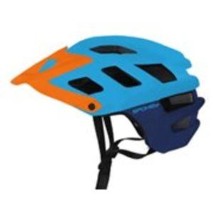 Cyklistická přilba pro dospělé Spokey SINGLETRAIL modrá