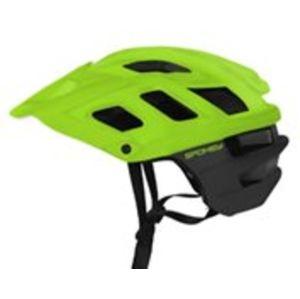 Cyklistická přilba pro dospělé Spokey SINGLETRAIL zelená
