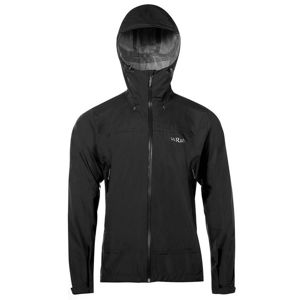 Pánská bunda Rab Downpour Plus Jacket black M