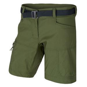 Dámské šortky Husky Kimbi L tm.zelená L