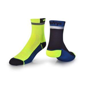Ponožky VAVRYS CYKLO 2020 2-pa 46220-200 žlutá 34-36