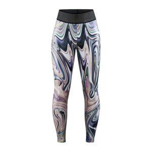 Dámské kalhoty CRAFT Flow Shiny 1910377-007714 růžová XS