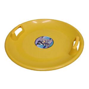 Sáňkovací talíř Acra Superstar 60 CM žlutý
