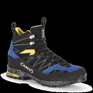 Pánské boty AKU Tengu Lite GTX černo, modro, žluté 7,5 UK