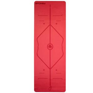 Gumová podložka na cvičení Spokey JUDY červená 1,5 cm